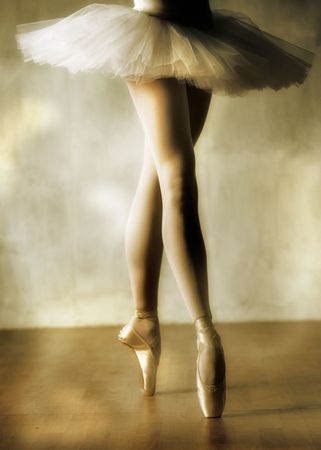 Ballerina's legs Stock Photo - 2642139