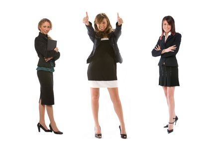 three businesswoman photo