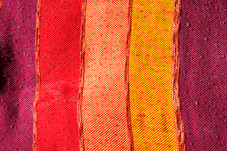 closeup of a fabric made of sisal, silk plants of Morocco photo