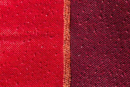 made in morocco: closeup of a fabric made of sisal, silk plants of Morocco Stock Photo