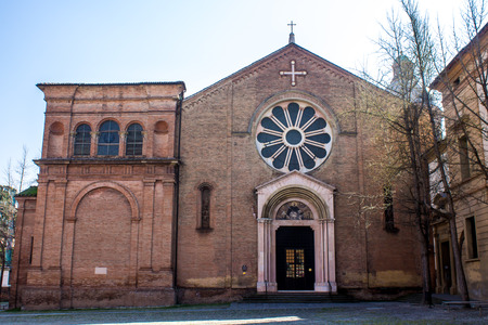 the Basilica of San Domenico, founder of the Order of Preachers (Dominicans) in Bologna, Italy