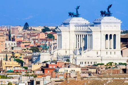 emmanuel: The monument of Altare della Patria ( Il Vittoriano)  in Rome, Italy