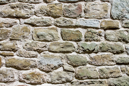 irregular: background of a wall with irregular stones