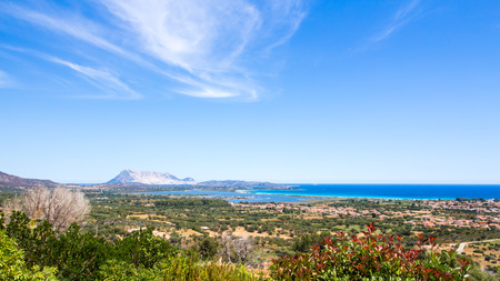 panoramic view of the coast of San Teodoro and