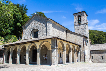 la VernaFranciscan sanctuary, in Tuscany, Italy, It is famous for being the place where St. Francis of Assisi would have received the stigmata. 写真素材