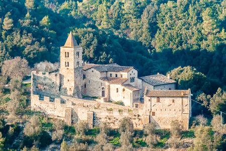 terni: Abbey of San Cassiano near Narni, a Benedictine monastery in Italy.