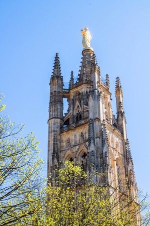 andrew: Pey Berland Tower, the bell tower of the St. Andrew Cathedral in Bordeaux, France