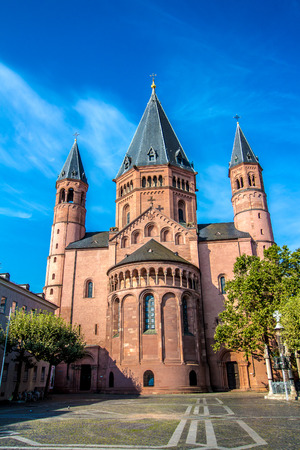 MAINZ: view of the St. Martins Cathedral in Mainz, Germany