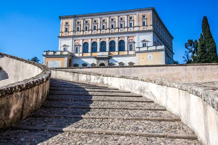 The Villa Farnese (in italian Palazzo Farnese), a mansion in the town of Caprarola near Viterbo, Northern Lazio, Italy, Editorial
