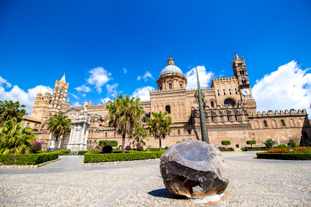 Metropolitan Cathedral of the Assumption of Virgin Mary in Palermo, Italy Stock Photo