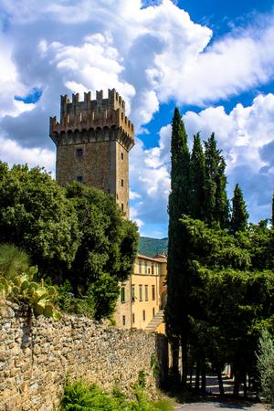The Palazzone, elegant Renaissance villa in Cortona, a mediaval town in Tuscany, Italy