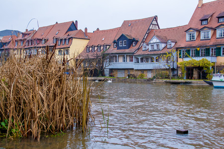 Little Venice, a row of fishermen houses, in Bamberg, Germany