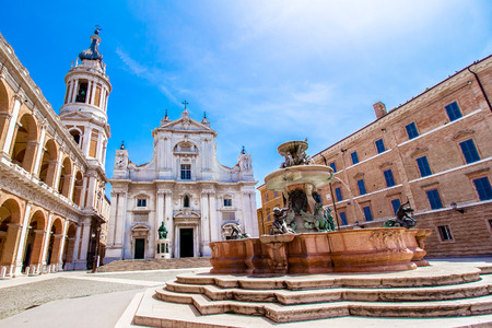 The Basilica della Santa Casa (English: Basilica of the Holy House) is a shrine of Marian pilgrimage in Loreto, Italy.