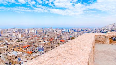 Paysage urbain de Tripoli au Liban