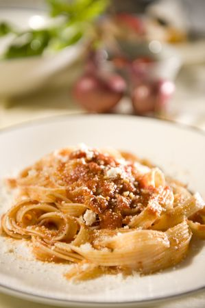 genuine good: pasta Stock Photo