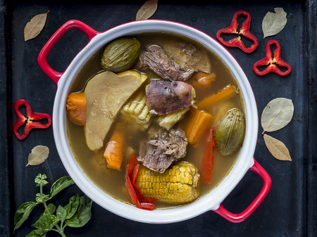 Costa Rica Beef Stew, typical food