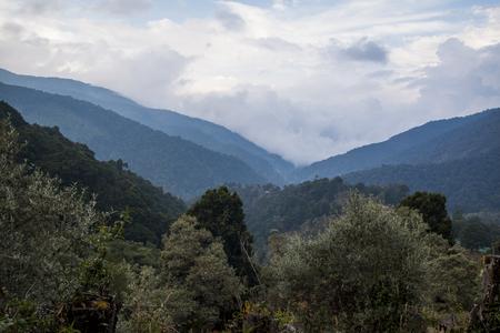 Mountain views San Gerado de Dota, Costa rica Stok Fotoğraf