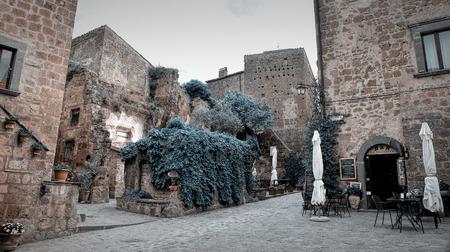 Civita di Bagnoregio Stock Photo