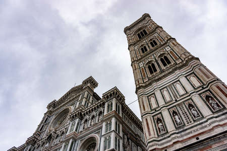 Cathedral of Saint Mary of the Flower, called Cattedrale di Santa Maria del Fiore in Florence Tuscany. Also known Cathedral of Florence or Duomo Di Firenze.