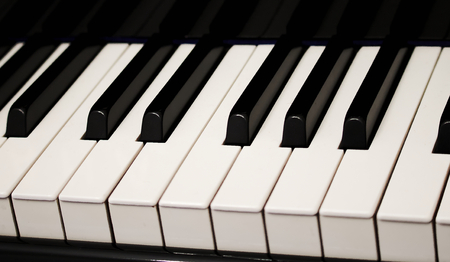 piano keys octave chords black white frets
