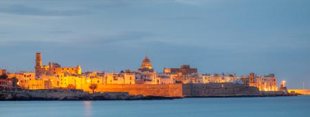 Monopoli old town on sea, salento apulia italy