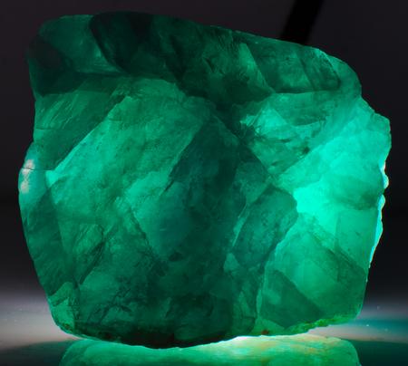 Fluorite mineral stone gem crystal green