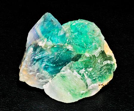 green blue transparent fluorite mineral stone gem crystal