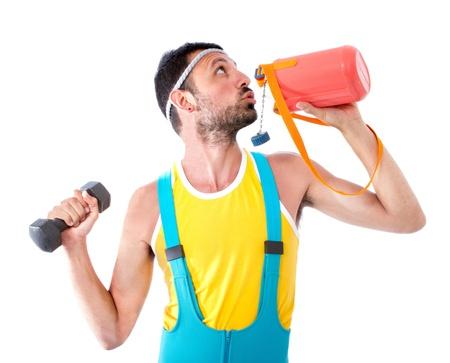 bizarre: restore during gym