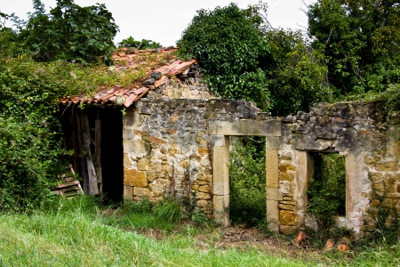 abandoned house in Asturias, Spain Stock Photo - 15821271