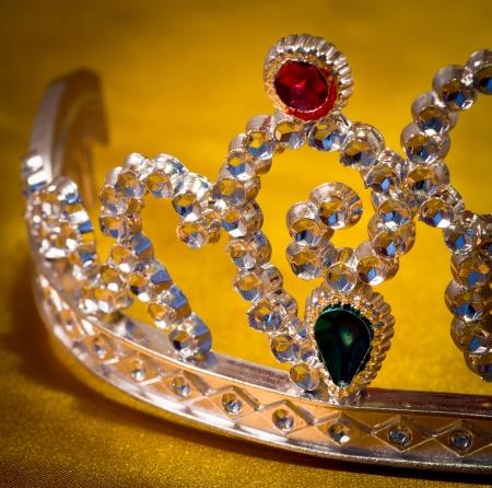 jeweled: jeweled crown made of plastic Stock Photo