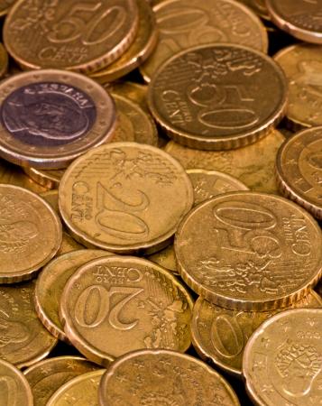 set of spanish euro coins photo