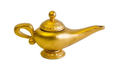Aladino y la l�mpara de genio m�gico