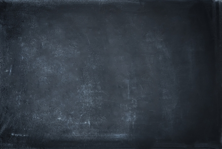 black board: close up of a black dirty chalkboard Stock Photo