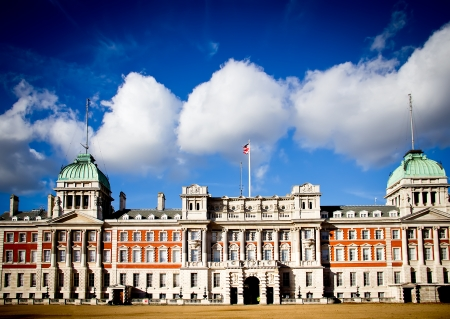 Old Admiralty Palace from the Horse Guards Parade in London