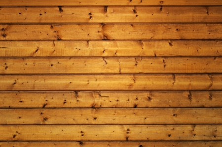 panelling: wood panelling brown background Stock Photo