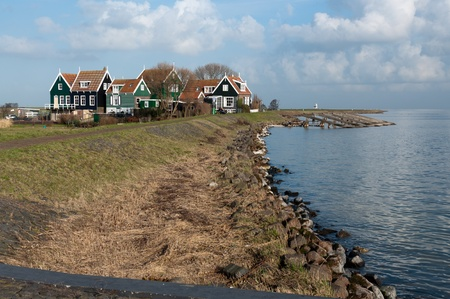 old village nearby the sea