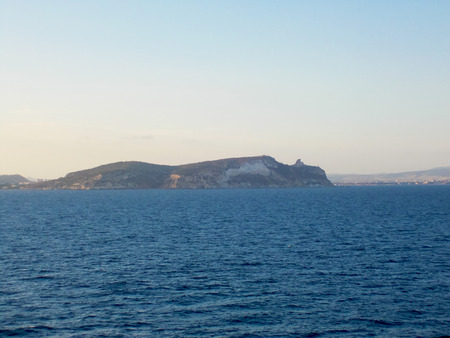 coastline: Sardinian Coastline from Ferry Stockfoto