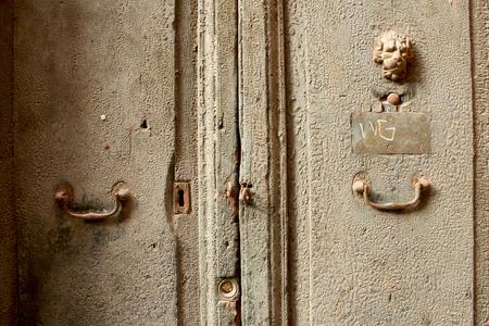porte ancienne: Lion Old Door