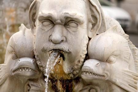 dientes sucios: Piazza Navona Fontana