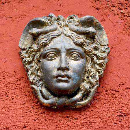 Greek  Roman Woman Face