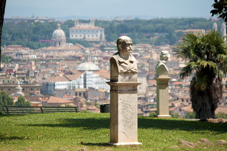 bust: Gianicolos Bust sculpture Rome