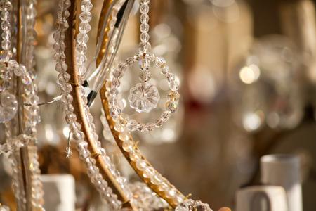 adn: detalles Lámpara de la vendimia con cables adn partes borrosas