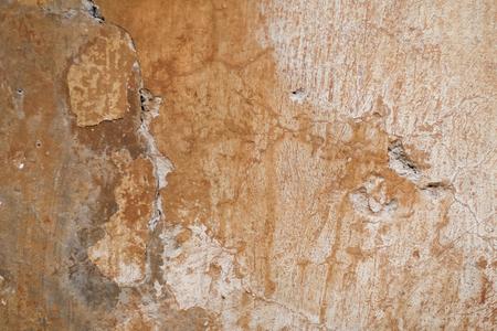 tones: old plaster in warm tones. Stock Photo