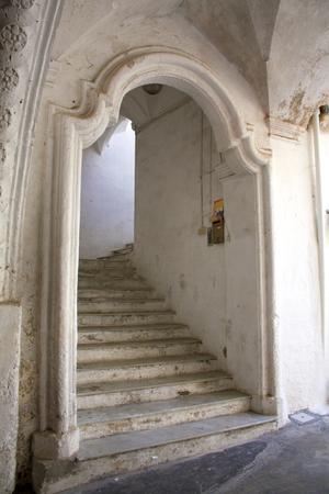 baroque: Baroque entrance with steps