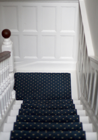 old english: An english old style staircase