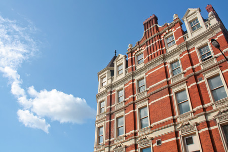 victorian architecture: London building in Victorian Architecture Style