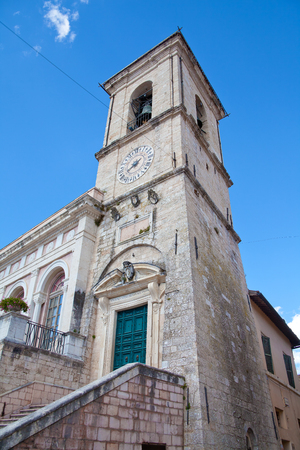 norcia: Norcia Town Hall Tower.