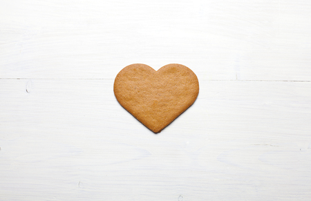 gingerbread cookie: Heart shaped Gingerbread cookie