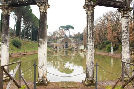 Villa Adriana Canopus front view.