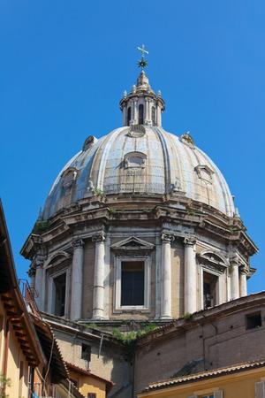 Sant Andrea Della Valle Dome in Rome